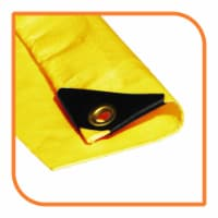 """VS Connections - 12 Mil Heavy Duty Tarp - Canopy - Multipurpose Protective Cover - 12"""" x 16"""" - 1"""