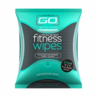 Fitness Wipes, Body Cleansing Wipes, Clean Off Odor and Sweat, (Refreshing Mint) - 1 pack