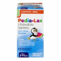 Pedia-Lax Saline Laxative Chewable Tablets