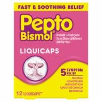 Pepto-Bismol Multi-Symptom Rapid Relief LiquiCaps