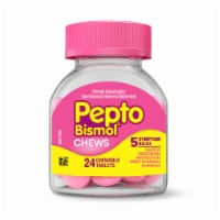Pepto-Bismol 5-Symptom Relief Chewable Tablets