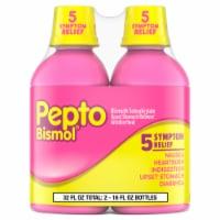 Pepto-Bismol 5 Symptom Relief Liquid Twin Pack