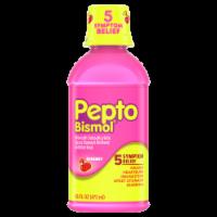 Pepto-Bismol Upset Cherry Liquid Stomach Reliever