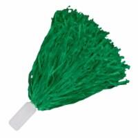 Blinkee BLUSHP-GN Non Light Up Short Handle Cheer Pom Poms, Green - 1