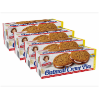 Oatmeal Creme Pies, Big Packs, 4 Boxes, 48 Individually Wrapped Sandwich Cookies - 48