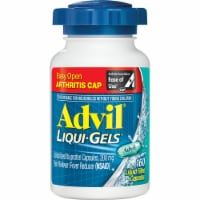 Advil Liqui-Gels Pain Reliever/Fever Reducer Liquid Filled Capsules 200mg 160 Count