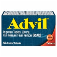 Advil Ibuprofen Pain Reliever/Fever Reducer Coated 200 mgTablets