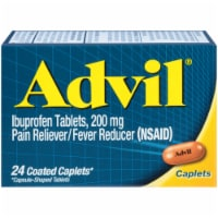 Advil Ibuprofen Coated Caplets 200mg