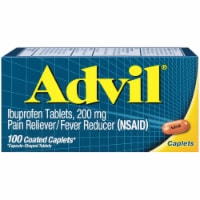 Advil Ibuprofen Coated Tablets 200mg 100 Count