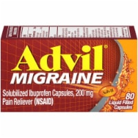 Advil Migraine Liquid Filled Capsules 200mg