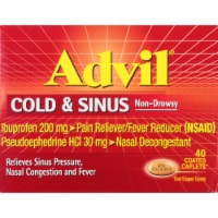 Advil Cold & Sinus Coated Caplets