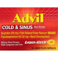 Advil Cold & Sinus Liquid Filled Capsules