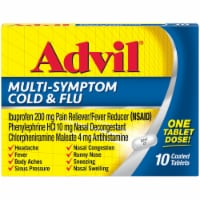 Advil Multi-Symptom Cold & Flu Coated Tablets 200 mg