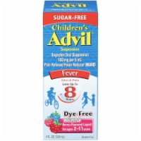 Advil Children's Berry-Flavored Pain Reliever Fever Reducer Liquid Suspension