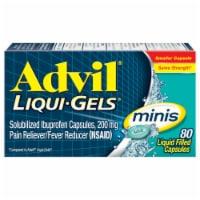 Advil Liqui-Gels Minis Liquid Filled Capsules 200mg