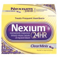Nexium 24-Hour Clear Minis Delayed Release Heartburn Relief Capsules