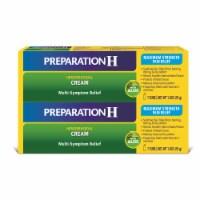 Preparation H Multi-Symptom Relief Maximum Strength Hemorrhoidal Cream 2 Count - 2 ct / 1.8 oz