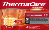 ThermaCare Advanced Back Pain Therapy Small/Medium Heatwraps 2 Count