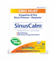 Boiron SinusCalm Quick-Dissolving Tablets