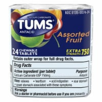 Tums Extra Strength Assorted Flavor Tablets