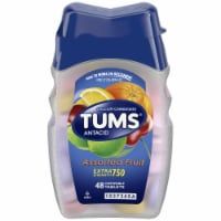 Tums Extra Strength Assorted Fruit Flavor Antacid Chewable Tablets