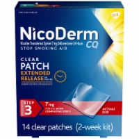 NicoDerm CQ Step 3 Stop Smoking Aid Patches