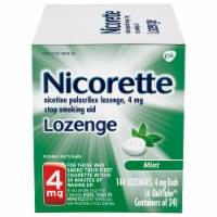 Nicorette Smoking Cessation Mint Lozenge 4mg 144 Count