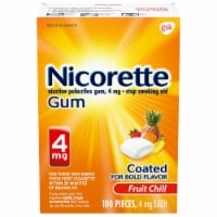 Nicorette Fruit Chill Nicotine Gum 4mg