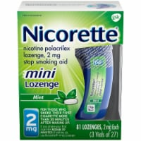 Nicorette Mint Nicotine Mini Lozenges 2mg