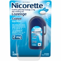 Nicorette Ice Mint 2mg Coated Lozenge