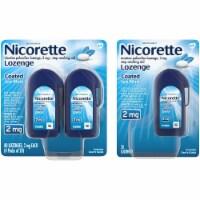 Nicorette Coated Ice Mint Lozenges 2mg