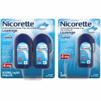 Nicorette Coated Ice Mint Lozenges 4mg