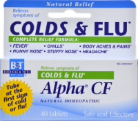 Boericke & Tafel Alpha CF Cold & Flu Tablets