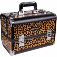 SHANY Fantasy Collection Makeup Train Case - Leopard - 1 Each