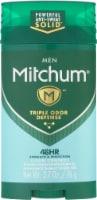 Mitchum Men Advanced Control Clean Scent Invisible Solid - 2.7 oz