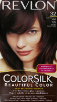 Revlon ColorSilk 32 Dark Mahogany Brown Hair Color