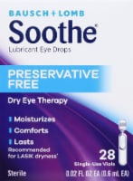 Bausch & Lomb Soothe XP Lubricant Eye Drops