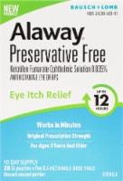 Bausch & Lomb Alaway® Antihistamine Eye Drops - 20 ct