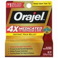 Orajel™ 4x Medicated Toothache & Gum Instant Pain Relief Gel