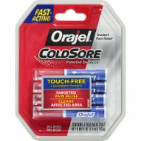 Orajel Touch-Free Applicator Cold Sores Treatment Vials