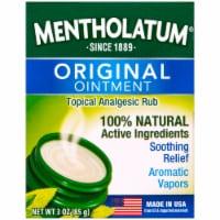 Mentholatum Aeromatic Ointment Jar