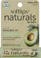 Softlips Naturals Avacado Oil Lip Balm - Honey Mint