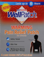 Wellpatch Warming Pain Relief Patch Large