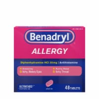 Benadryl Allergy Ultratabs Tablets 25mg