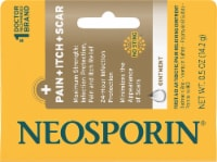 Neosporin® + Pain Itch Scar Antibiotic & Pain Relief Ointment - 0.5 oz