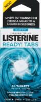 Listerine Clean Mint Ready! Tabs