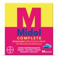 Midol Complete Menstrual Pain Relief Gelcaps