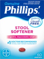 Genuine Phillips Stool Softener Liquid Gels
