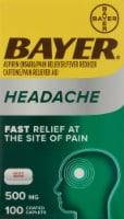 Bayer® Headache Aspirin 500mg - 100 ct