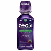 Vicks ZzzQuil Warming Berry Nighttime Sleep-Aid Liquid